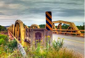 Route 66 Bridge Hydro OK