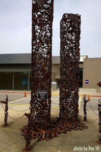 World Trade Center sculpture Oak Ridge TN